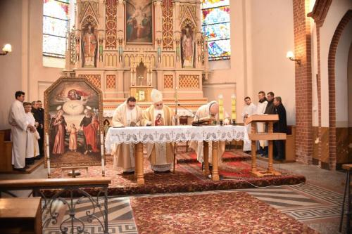 Poświęcenie kaplicy św. Józefa